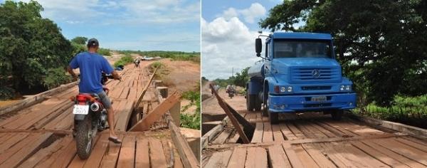 Padre pede que MP interdite a ponte sobre o Rio Canindé - Imagem 2