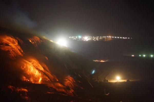 Incêndio em mina de carvão cobre cidade de fumaça na Austrália