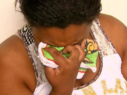 Mãe fala do desespero dos filhos soterrados: