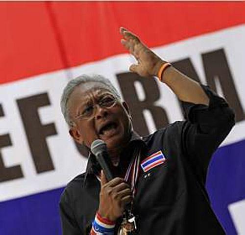 Ministro tailandês rejeita proposta de líder de protestos para negociar