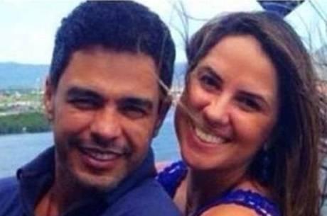 Zezé Di Camargo leva namorada em evento com Gusttavo Lima, diz jornal