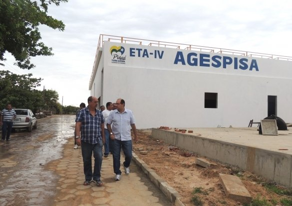 Agespisa conclui obras de estação de tratamento no litoral do Piauí