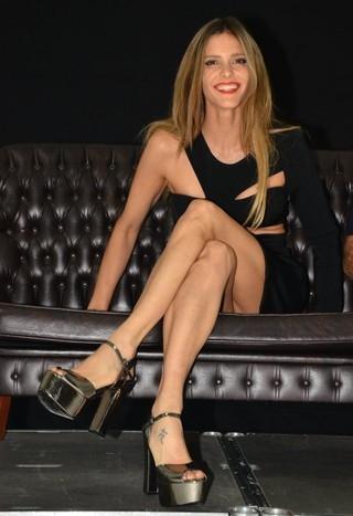 Em coletiva, Fernanda Lima conta que já fez sexo de salto alto: