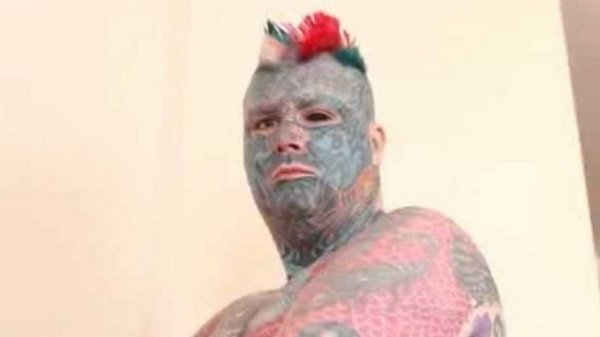 Homem da Gr-Bretanha perde passaporte ap mudar o nome para 然ei da Tatuagem