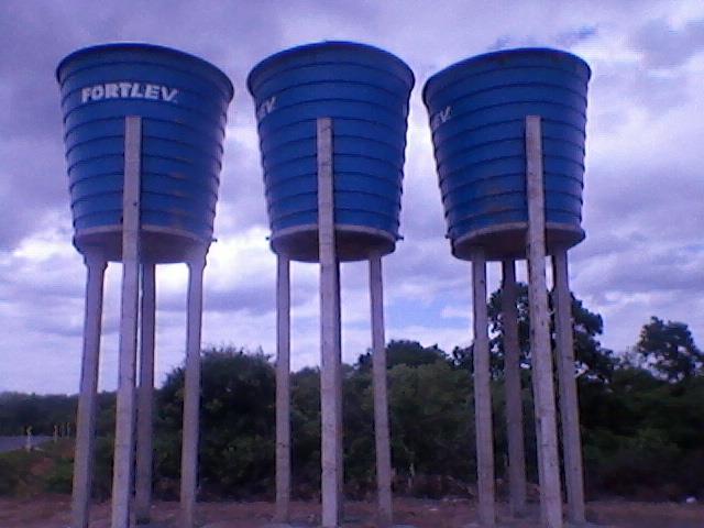 Sistema de Abastecimento de àgua em fase de Conclusão.