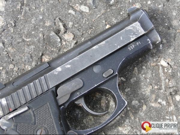 Assaltantes de lotérica no interior estavam com pistola da Secretaria de Segurança