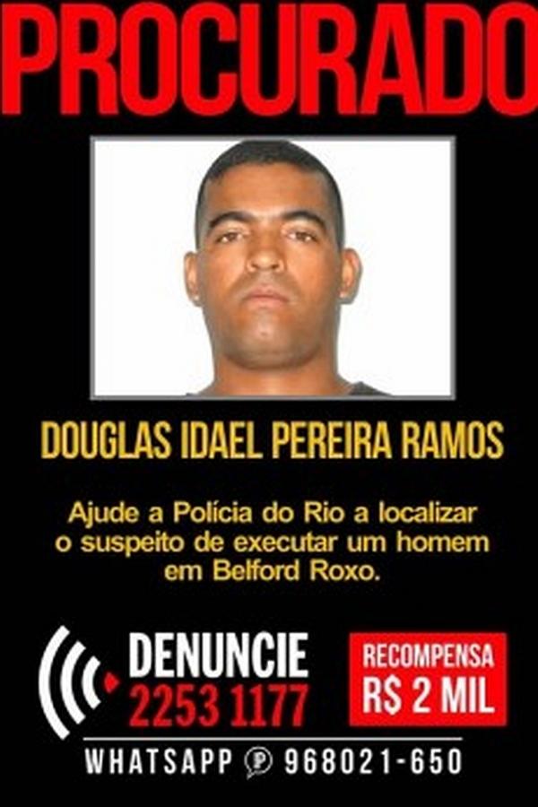 Disque-Denúncia oferece recompensa de R$ 2 mil por informações sobre acusado de executar jovem na Baixada