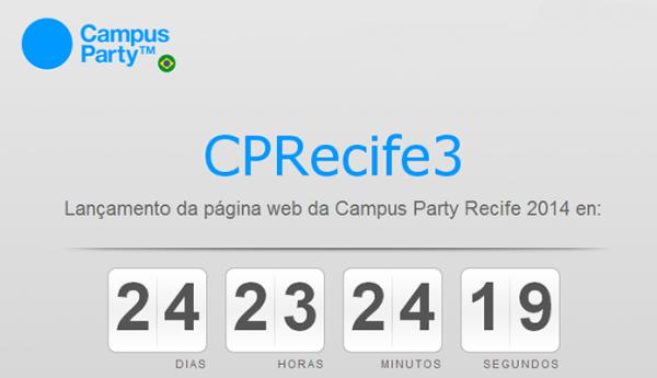 Campus Party confirma terceira edição em Recife com 4 mil campuseiros