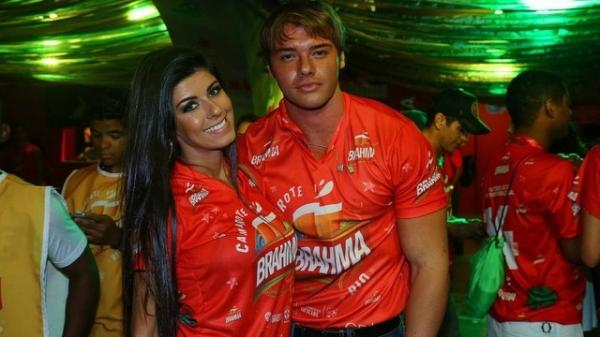 Thor Batista paga R$ 35 mil à vista para entrar com namorada e amigos em camarote da Sapucaí