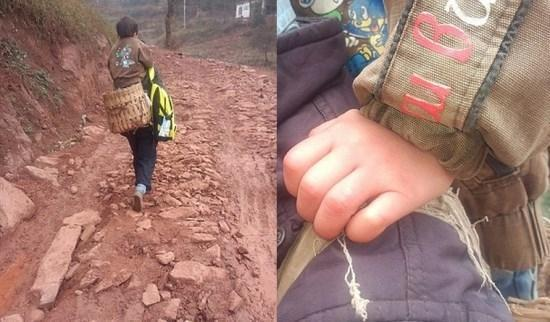 Pai anda 28km para levar seu filho deficiente  escola, todos os dias