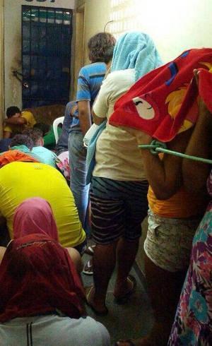 Por falta de vaga nas celas, mulheres e homens s縊 amarrados com cordas em delegacia do RN