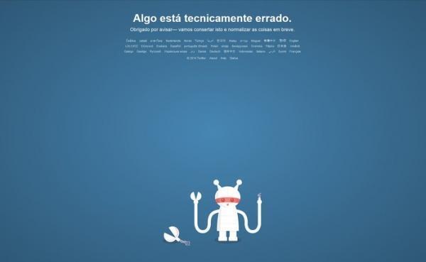 Twitter fica fora do ar; versão no desktop e aplicativos são afetados