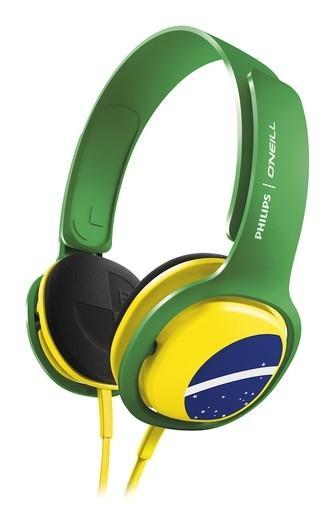 Philips lança fone de ouvido com foco nos torcedores brasileiros
