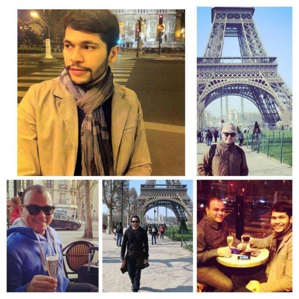 Direto de Paris, André Moura e Wellington Benário participam do telejornal Agora