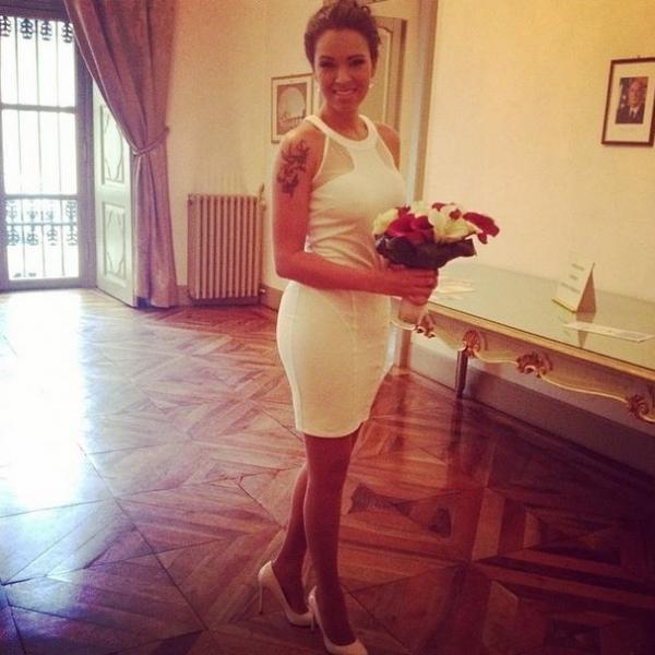 Ex-BBB Ariadna se casa: