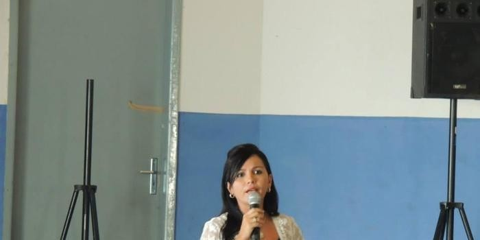 Aula inaugural dos cursos do PRONATEC em parceria com o SENAC em Curralinhos