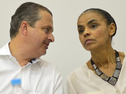 Campos e Marina criticam loteamento de cargos no governo Dilma