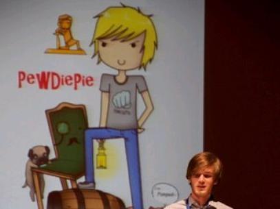 Com 25 milhões seguidores, sueco é o mais novo recordista do Youtube