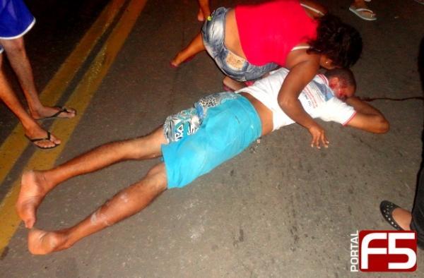 Pedestre é atropelado em BR-402 e fica em estado grave