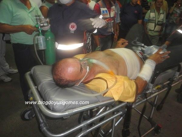 Motorista  baleado em tentativa de assalto a micro-ibus na Ilha de Santa Isabel