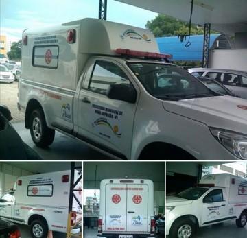 Posto de Saúde de Hugo Napoleão adquire nova ambulância