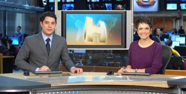 Jornalistas da Globo protestam contra poeira de obra em redação