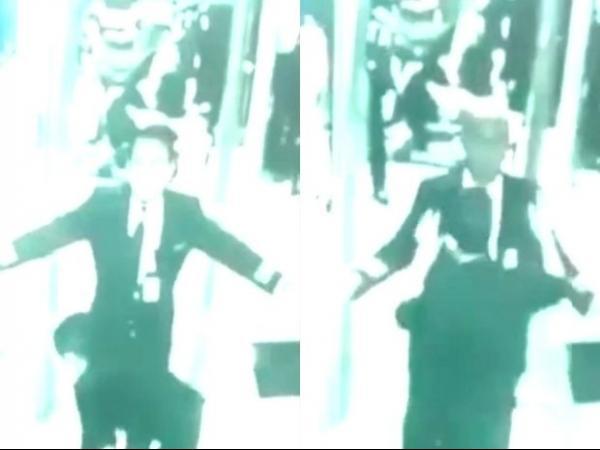 Vídeo mostra piloto e copiloto de avião desaparecido passando por raio-X