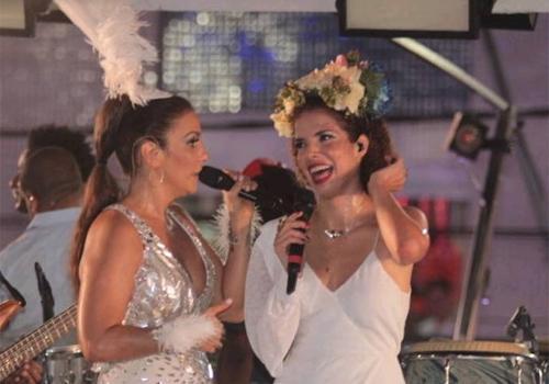 Ivete Sangalo deixa Vanessa da Mata constrangida em Salvador