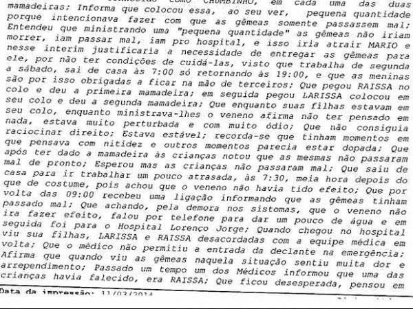 Condenada a 28 anos por envenenar filhas gêmeas no Rio é presa no DF