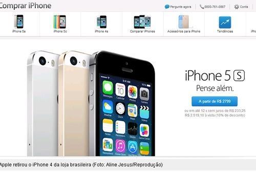 iPhone 4 deixa de ser fabricado no mundo; Apple retira smart das lojas