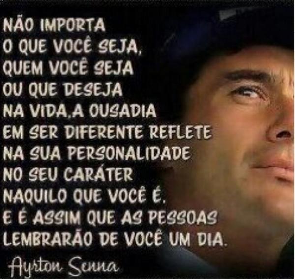 Ronaldo relembra momento tiete e homenageia Ayrton Senna