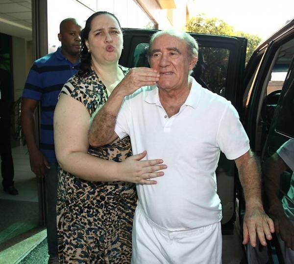 Comediante, Renato Aragão volta a ser internado no hospital Barra D?Or no Rio de Janeiro