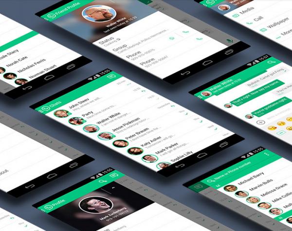 Brasileiro sugere redesign do WhatsApp e integração com Facebook Messenger