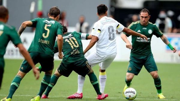 Santos bate Palmeiras e crava melhor campanha da 1ª fase