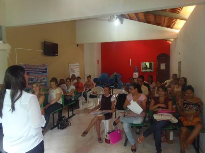 Secretaria de Saúde leva alimentação saudável para escolas de Luís Correia