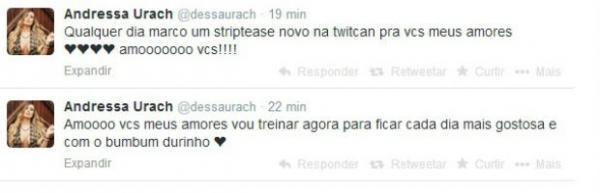 Andressa Urach e Denise Rocha trocam farpas em rede social