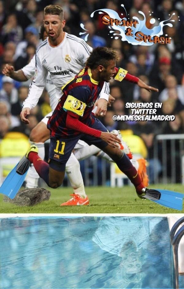 Neymar vira alvo na internet após pênalti polêmico