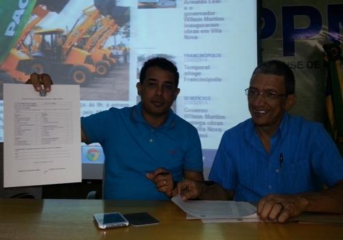 Trinta e Cinco municípios piauienses receberam pás carregadeiras na APPM