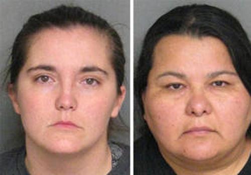 Mulheres são presas após manterem as suas três crianças acorrentadas