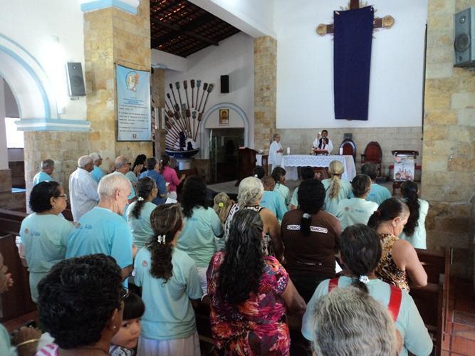 Centro de Idosos celebra aniversariantes com missa em ação de graças