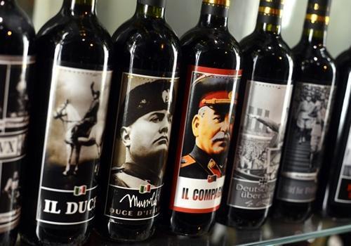 Vinhos com imagens de ditadores no rótulo chamam atenção na Itália