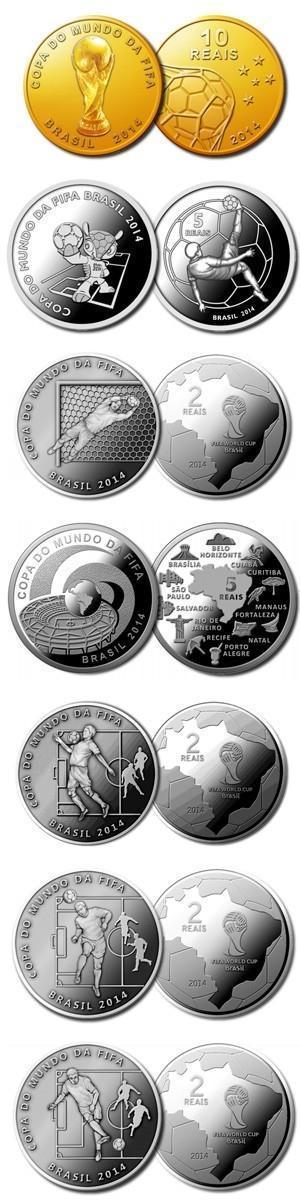 BC coloca hoje à venda novo lote de moedas de ouro da Copa do Mundo