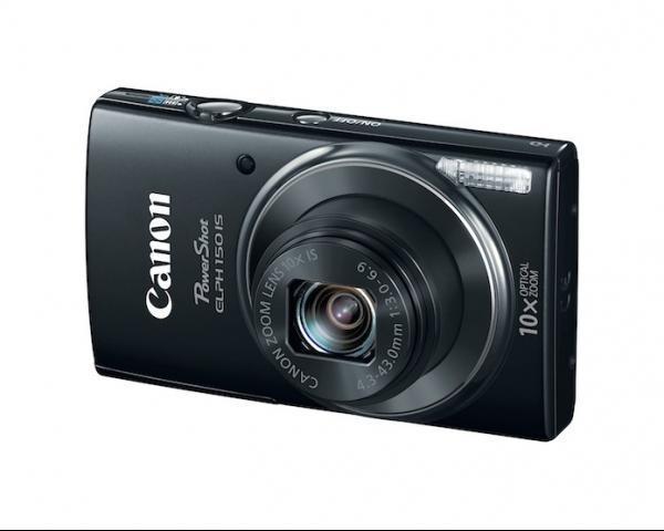 Canon lança compacta Powershot ELPH 150 IS com estabilizador de imagens