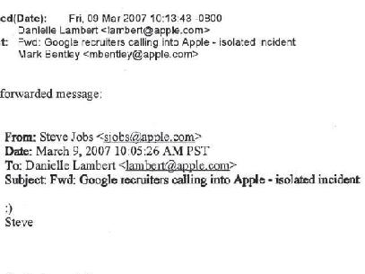 Jobs enviou