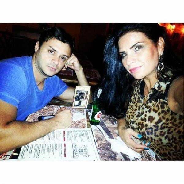 Solange Gomes passa por sufoco na noite carioca