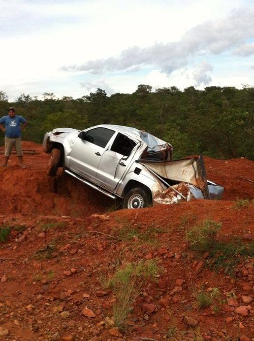 Bispo de Oeiras, Dom Juarez sofre acidente no sul do Piauí