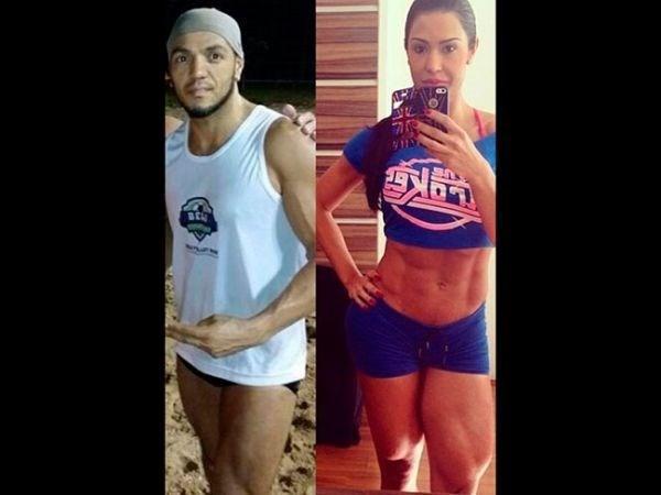Internautas comparam corpo de Belo com o de Gracyanne Barbosa