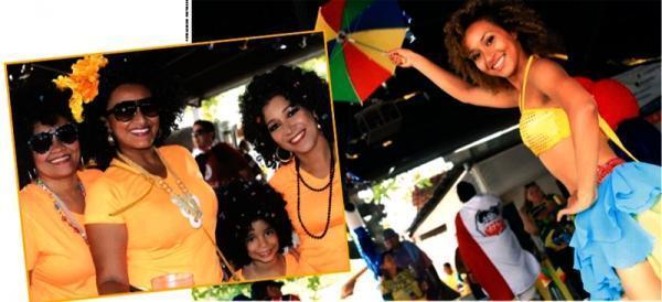 Bloco de rua marcam com sucesso carnaval de THE