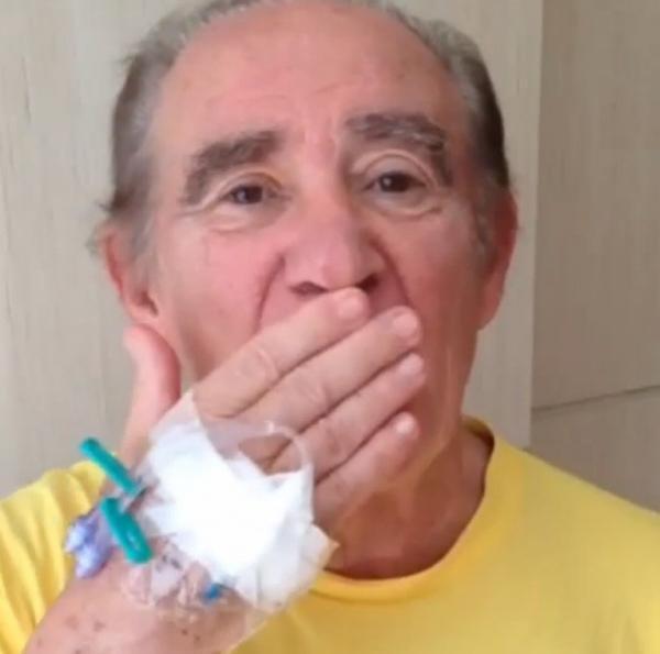 Em vídeo, Renato Aragão aparece bem e diz: