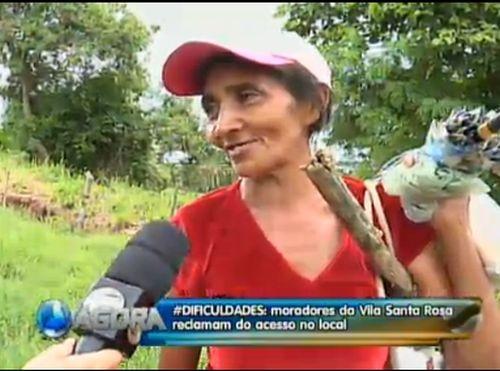 Cheia de buracos, ladeira da Vila Santa Rosa é alvo de reclamações de moradores